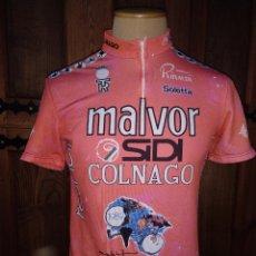 Coleccionismo deportivo: MAILLOT CICLISTA ORIGINAL EQUIPO MALVOR 1989. CASTELLI MADE IN ITALY. USADO. BUEN ESTADO.. Lote 120495675