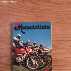 Coleccionismo deportivo: GUÍA MOTOCICLETA MADRID 1977. Lote 123849092