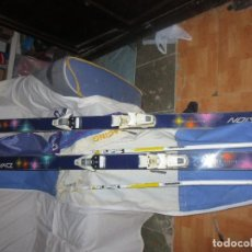 Coleccionismo deportivo: SKIES PAREJA EQUIPO COMPLETO FRANCE DYNASTAR CH FUSION DUAL ACTION. Lote 126243515