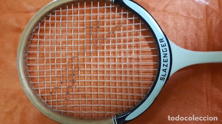 Coleccionismo deportivo: RAQUETA BADMINTON SLAZENGER - Foto 2 - 128488711