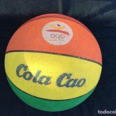 Coleccionismo deportivo: UNICO Y BUSCADO BALÓN BALONCESTO BARCELONA 92 COLACAO. Lote 128817963