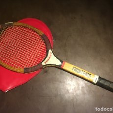 Coleccionismo deportivo - Raqueta madera frontenis Xanadu - 129517520