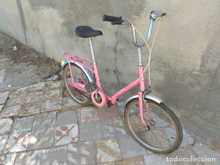 Coleccionismo deportivo: Antigua Bicicleta BH Gacela - Foto 2 - 130258978