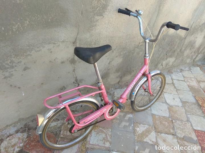 Coleccionismo deportivo: Antigua Bicicleta BH Gacela - Foto 3 - 130258978