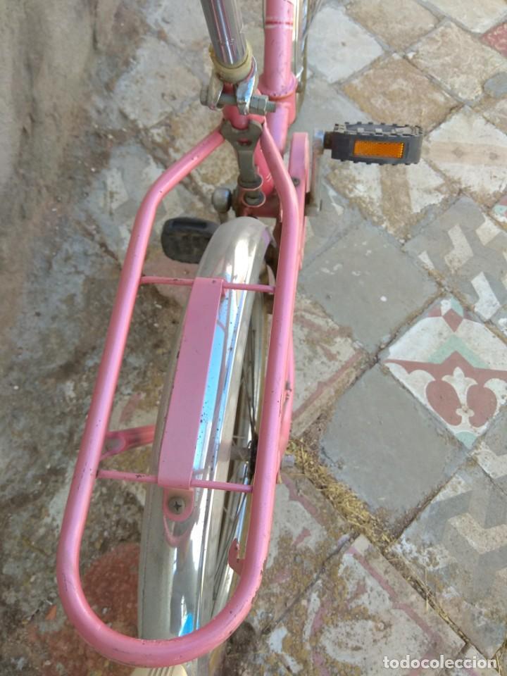 Coleccionismo deportivo: Antigua Bicicleta BH Gacela - Foto 6 - 130258978
