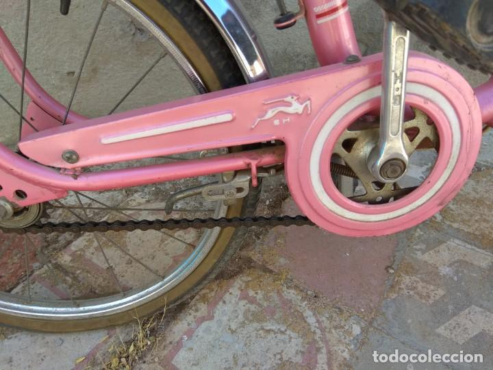 Coleccionismo deportivo: Antigua Bicicleta BH Gacela - Foto 9 - 130258978