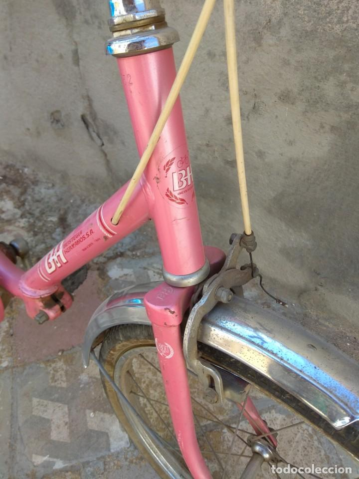 Coleccionismo deportivo: Antigua Bicicleta BH Gacela - Foto 11 - 130258978