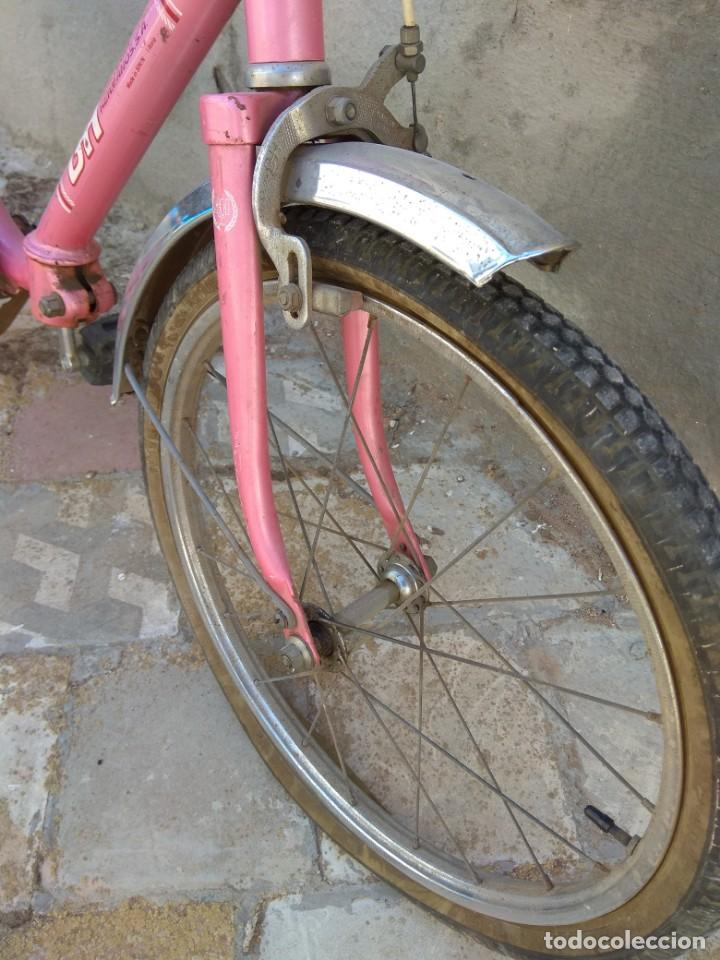 Coleccionismo deportivo: Antigua Bicicleta BH Gacela - Foto 13 - 130258978