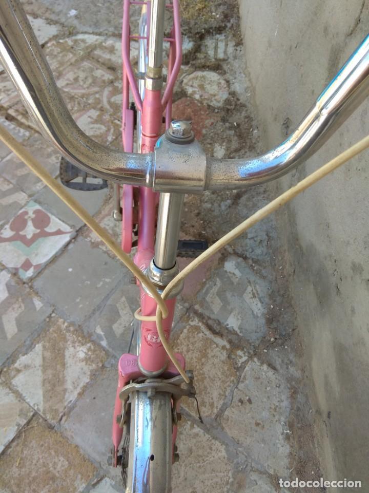 Coleccionismo deportivo: Antigua Bicicleta BH Gacela - Foto 15 - 130258978