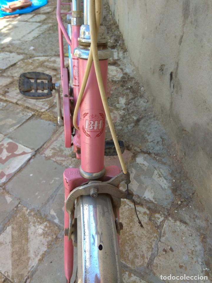 Coleccionismo deportivo: Antigua Bicicleta BH Gacela - Foto 16 - 130258978