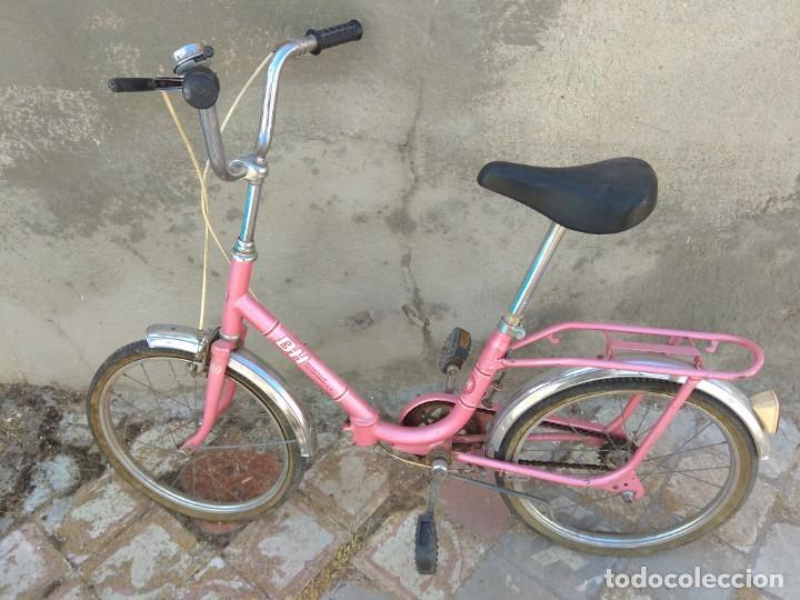 Coleccionismo deportivo: Antigua Bicicleta BH Gacela - Foto 17 - 130258978