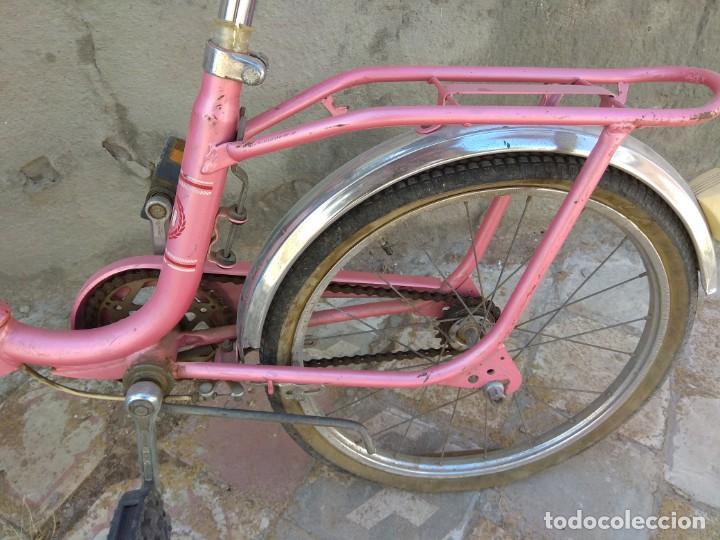 Coleccionismo deportivo: Antigua Bicicleta BH Gacela - Foto 18 - 130258978