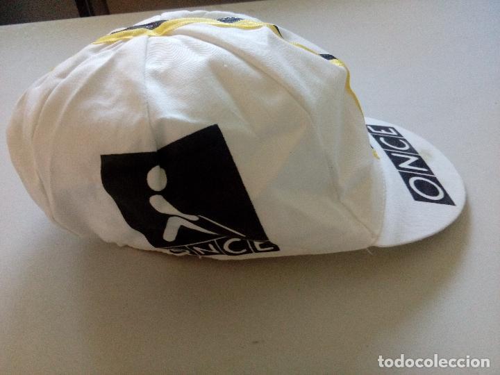 a0412fca3bce4 Antigua gorra equipo ciclista once años 90 - Sold through Direct ...