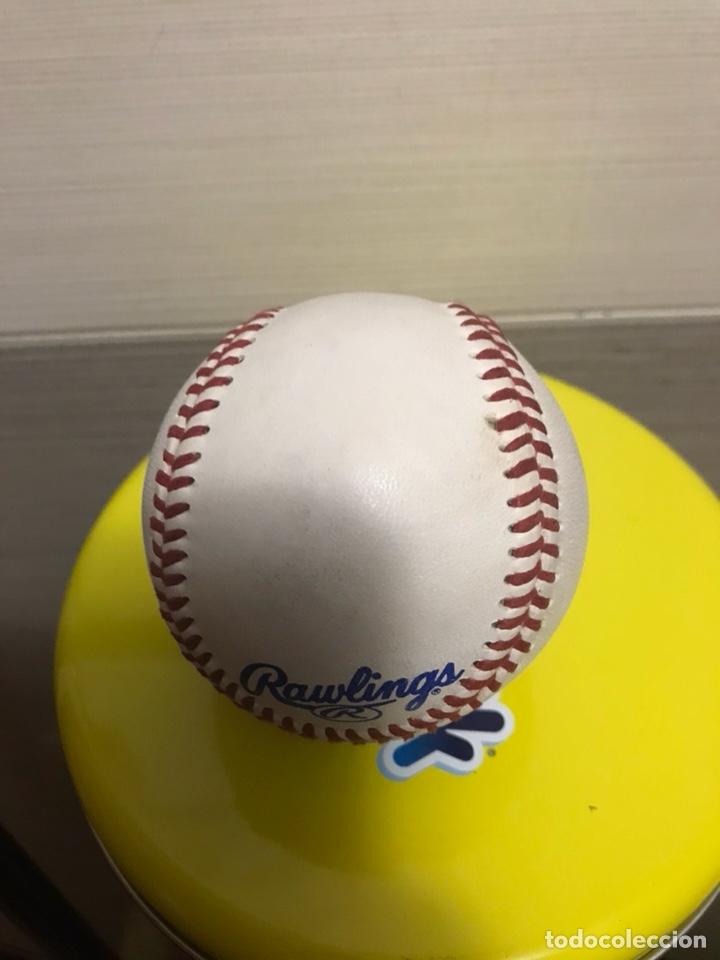 Coleccionismo deportivo: pelota de béisbol firmada - Foto 3 - 131203153