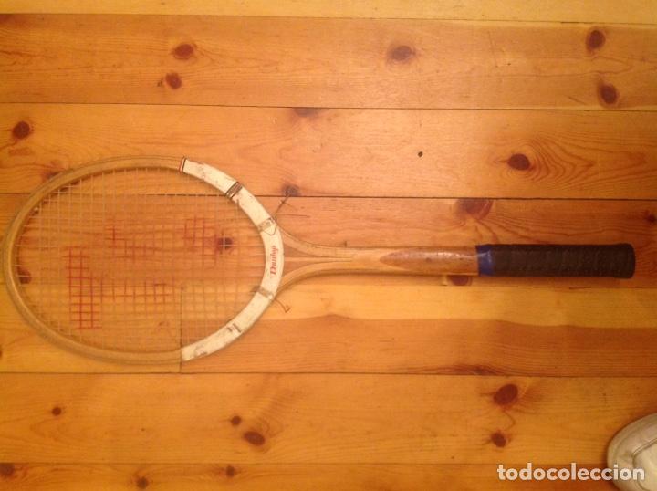 Coleccionismo deportivo: Raqueta de tenis antigua Dunlop Maxply - Foto 2 - 131421657