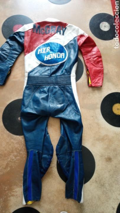 Coleccionismo deportivo: ANTIGUO MONO VINTAGE OFICIAL MOTOCICLISMO-HONDA-MOTO-CON PARCHES-CALIFORNIA - ORIGINAL AÑOS 70-80 - Foto 4 - 134001425