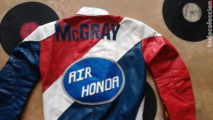 Coleccionismo deportivo: ANTIGUO MONO VINTAGE OFICIAL MOTOCICLISMO-HONDA-MOTO-CON PARCHES-CALIFORNIA - ORIGINAL AÑOS 70-80 - Foto 5 - 134001425