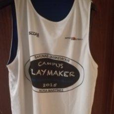 Coleccionismo deportivo: CAMPUS BASKET JASIKEVICIUS BASQUET CAMISETA SHIRT L. Lote 134007845
