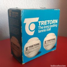 Coleccionismo deportivo: ANTIGUA CAJA 4 PELOTAS DE TENIS TRETORN. Lote 134082370