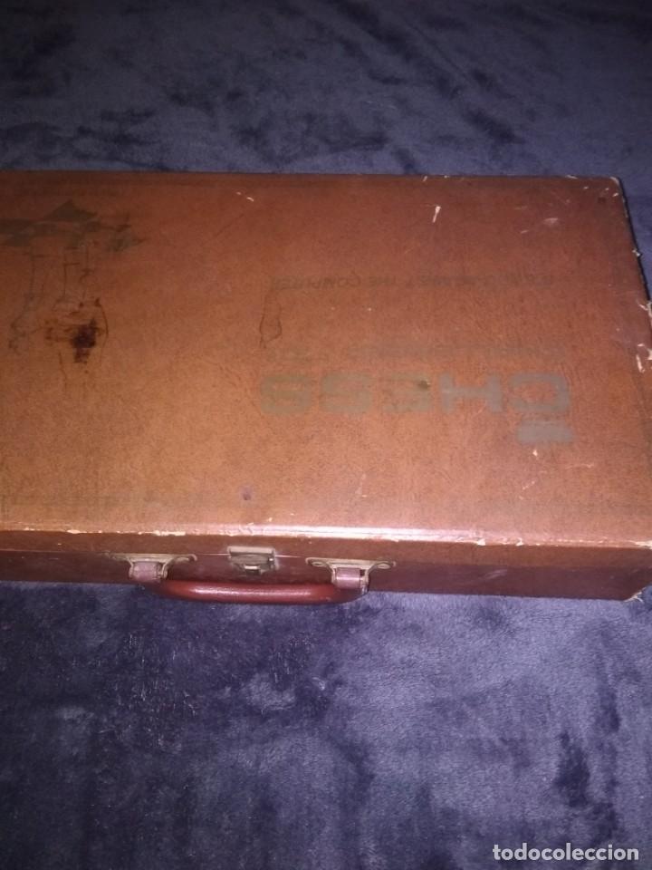 Coleccionismo deportivo: Preciosa maleta con juego de ajedrez electrónica - Foto 3 - 134185598