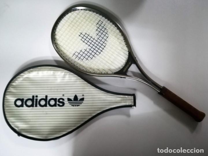 AÑOS 80 RAQUETA TENIS ADIDAS SIROCCO JUNIOR NUEVA A ESTRENAR (Coleccionismo Deportivo - Material Deportivo - Otros deportes)