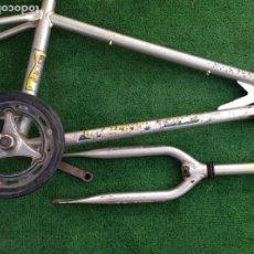 Coleccionismo deportivo: CUADRO BICICLETA BH CALIFORNIA BMX ESPECIAL AUTENTICO COLECCION X2 PRIMERA SERIE. Lote 135059654