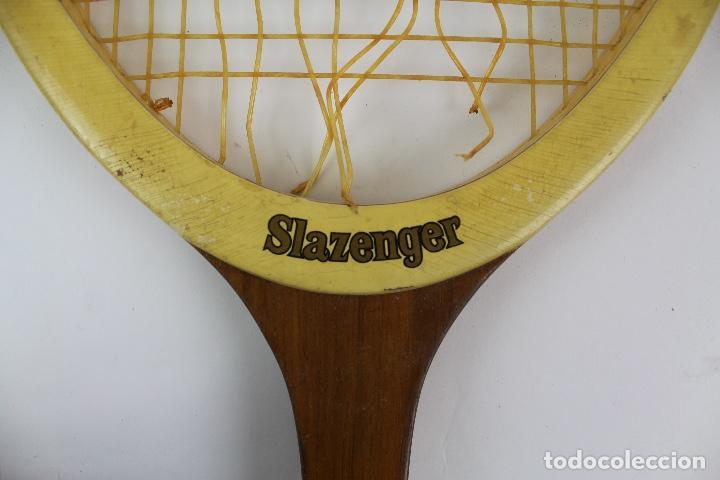Coleccionismo deportivo: RAQUETA DE TENIS MARCA SLAZENGER MODELO CHALLENGE NO.1.AÑOS 70. - Foto 6 - 135887802