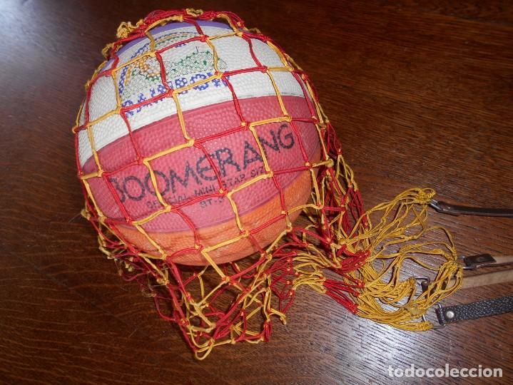 Coleccionismo deportivo: BALÓN DE BALONCESTO BOOMERANG RAINBOW,OFICIAL MINI STAR,SIZE RT-3 - Foto 9 - 136506166