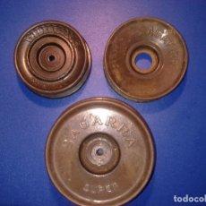 Coleccionismo deportivo: 3 BOBINAS SAGARRA MOD PATENTADO-182595 Y SUPER. Lote 136616858