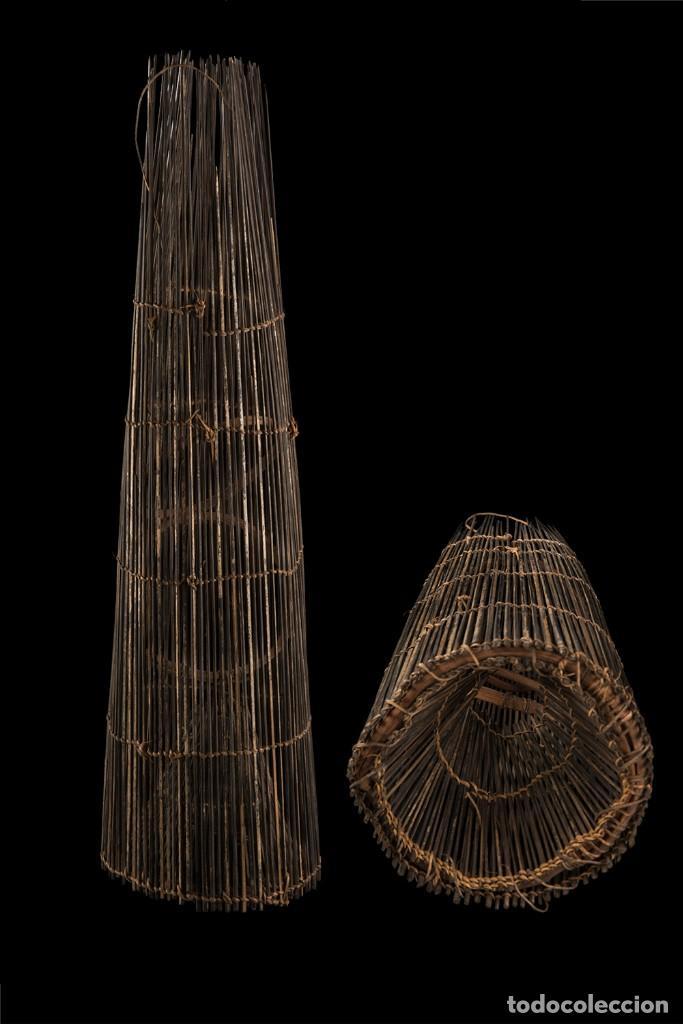Coleccionismo deportivo: Trampa de pesca artesanal Pueblo indígenas Colombia - Foto 16 - 138834254