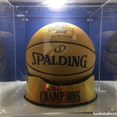 Coleccionismo deportivo: NBA. EDICION LIMITADA. BALON SPALDING. PRIMER ANILLO PAU GASOL.LOS ANGELES LAKERS. Lote 138931126