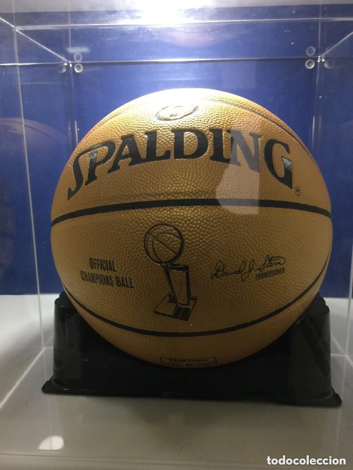 Sammelleidenschaft Sport: NBA. EDICION LIMITADA. BALON SPALDING. PRIMER ANILLO PAU GASOL.Los Angeles Lakers - Foto 2 - 138931126