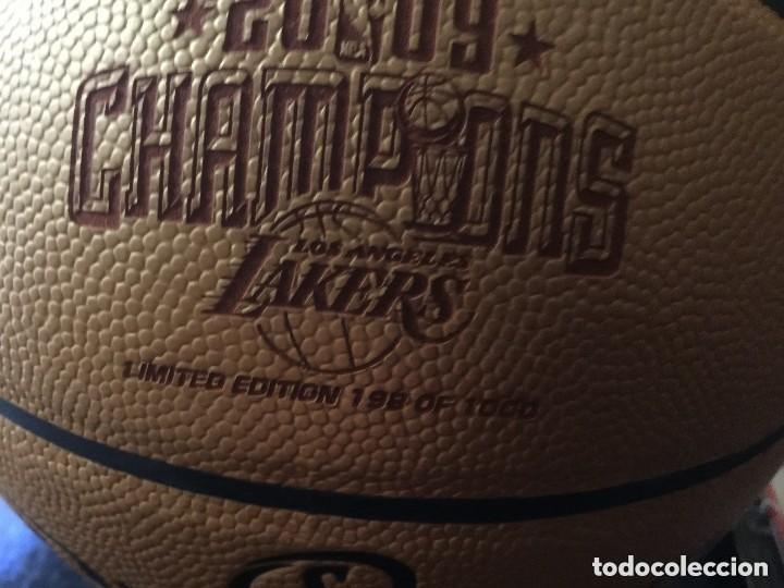 Sammelleidenschaft Sport: NBA. EDICION LIMITADA. BALON SPALDING. PRIMER ANILLO PAU GASOL.Los Angeles Lakers - Foto 3 - 138931126