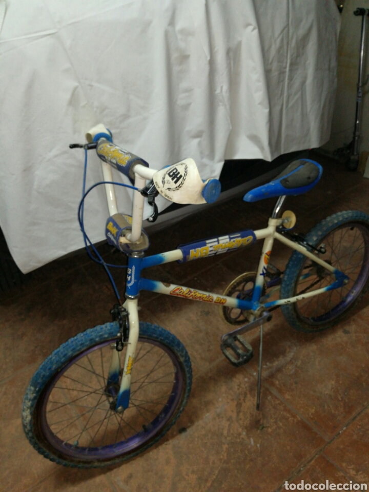 BICICLETA BH CALIFORNIA BMX XL 4 (Coleccionismo Deportivo - Material Deportivo - Otros deportes)