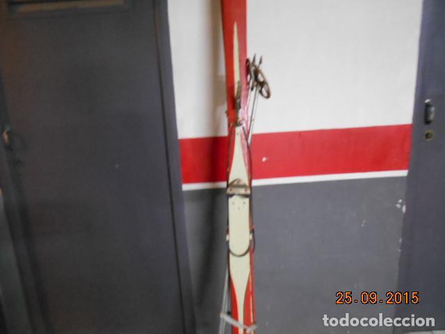 Coleccionismo deportivo: SKIES ANTIGUOS - Foto 2 - 140044330