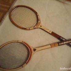Coleccionismo deportivo: RAQUETAS DE MADERA WINBLEDON Y STANDARD . Lote 140190334