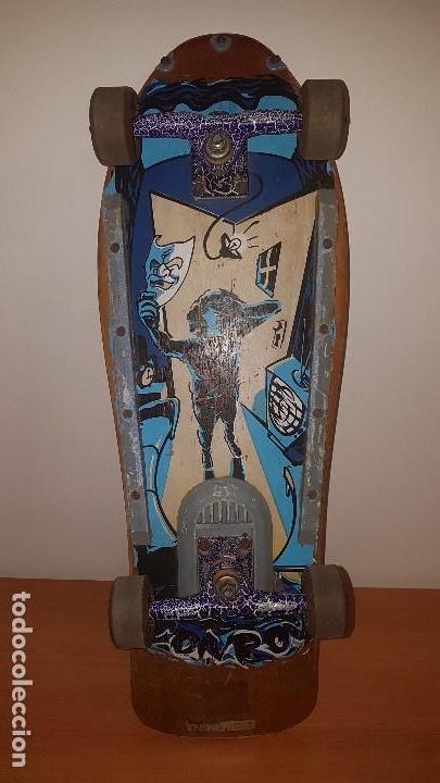 ANTIGUO MONOPATIN PATIN SKATE CHOKE OLD SCHOOL AÑOS 80 (Coleccionismo Deportivo - Material Deportivo - Otros deportes)