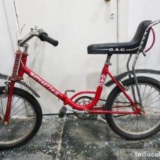 Coleccionismo deportivo: BICICLETA GAC MOTORETTA 2 BMX ROJA PLEGABLE, COLLECCIONISTAS. Lote 140514538