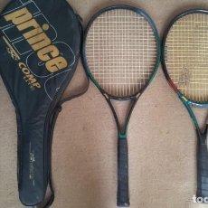 Coleccionismo deportivo: 2 RAQUETAS PRINCE TENIS VINTAGE AÑOS 90. Lote 140905418