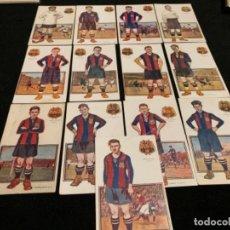 Coleccionismo deportivo: COLECCIÓN COMPLETA CHOCOLATES AMATLLER JUGADORES FÚTBOL CLUB FC BARÇA CF F. C BARCELONA . Lote 143129718