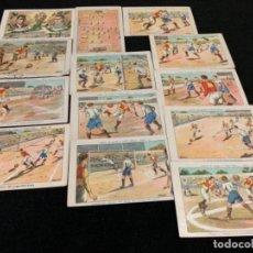 Coleccionismo deportivo: COLECCIÓN COMPLETA CHOCOLATES VARIOS JUGADORES FÚTBOL CLUB FC BARÇA CF F. C BARCELONA . Lote 143129974