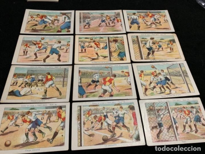 Coleccionismo deportivo: Colección completa chocolates Varios jugadores fútbol club Fc barça cf f. C Barcelona - Foto 3 - 143129974
