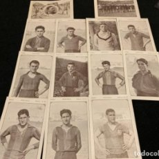 Coleccionismo deportivo: COLECCIÓN COMPLETA CHOCOLATES JUNCOSA SECUENCIAS JUGADORES FÚTBOL CLUB FC BARÇA CF F. C BARCELONA . Lote 143130326