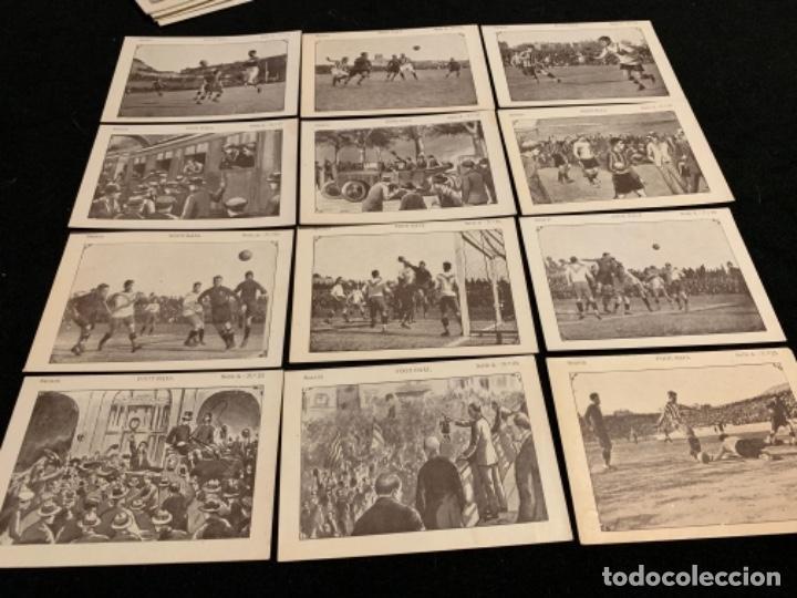Coleccionismo deportivo: Colección completa chocolates Juncosa secuencias jugadores fútbol club Fc barça cf f. C Barcelona - Foto 3 - 143130326