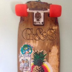 Coleccionismo deportivo: SKATEBOARD MONOPATIN VINTAGE G&S. Lote 143289470