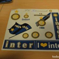 Coleccionismo deportivo: PEGATINAS DEL INTER MILAN CONMEMORATIVAS DE SUS 90 AÑOS. Lote 143841018