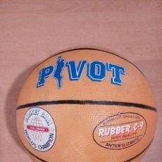 Coleccionismo deportivo: BALON PIVOT CAPLAN AÑOS 80 - NUEVO DE TIENDA DE DEPORTES - NUNCA USADO. Lote 178884951