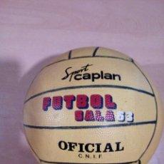 Coleccionismo deportivo: BALON FUTBOL SALA 63 - SPORT CAPLAN - OFICIAL CNIF - NUEVO DE TIENDA DE DEPORTES - NUNCA USADO. Lote 143975750