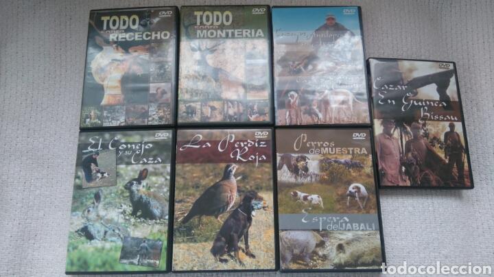 DVD CAZA (Coleccionismo Deportivo - Material Deportivo - Otros deportes)