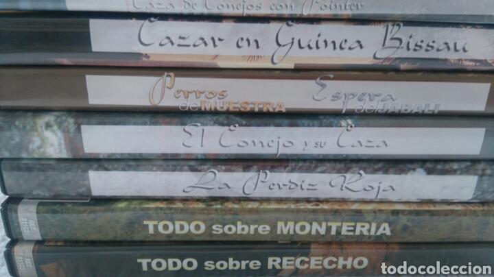 Coleccionismo deportivo: DVD CAZA - Foto 2 - 147435698